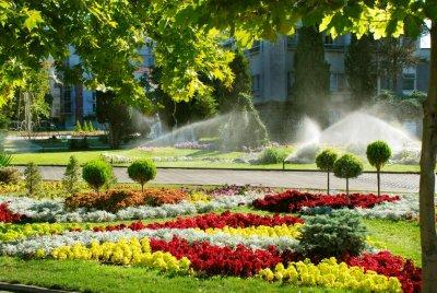 Sistemas de riego parques y jardines